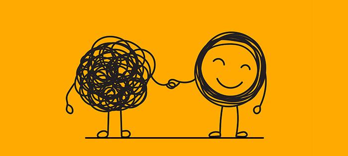 插图, 微笑,不纠结,牵着手,纠结的性格,朋友的特写,拥抱,有话对抑郁的人说