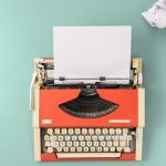 Vintage typewriter and crumpled paper| how to improve writing skills in english
