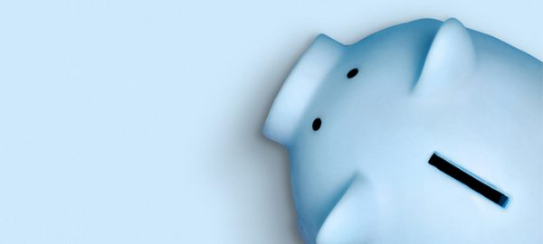 blue piggy bank | how to start investing
