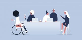 diverse group illustration | office of diversity and inclusion