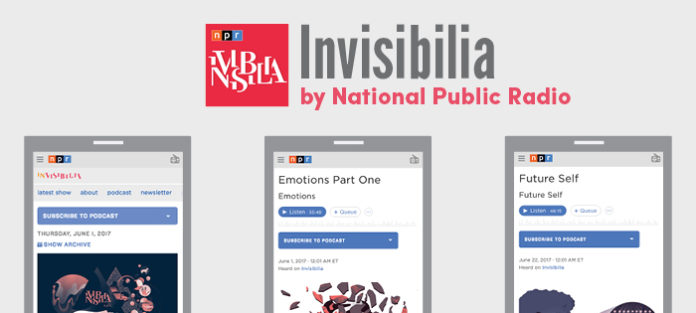Invisibilia App by NPR screenshots