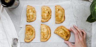 top view of fresh empanadas   baked empanadas recipe
