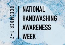 December 1-7 is national handwashing awareness week | how to wash your hands