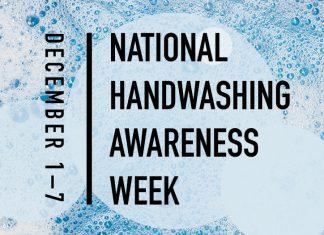 December 1-7 is national handwashing awareness week | how to wash your hands