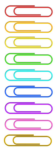 paper clips   living with ocd