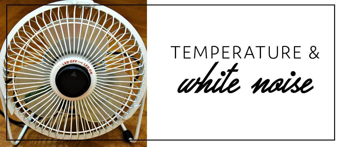 Temperature & white noise