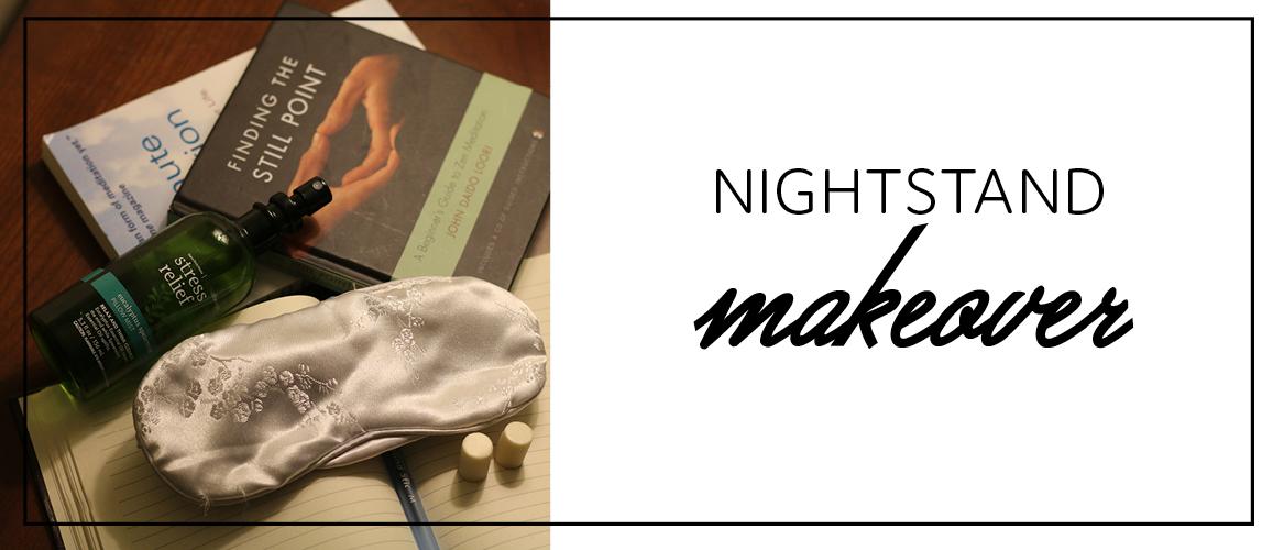 Nightstand makeover
