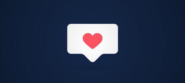 heart notification icon