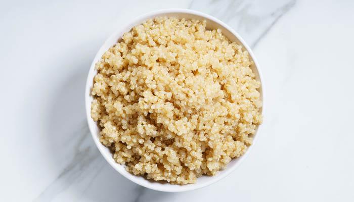 prepared quinoa