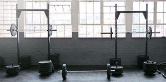 Set of squat racks