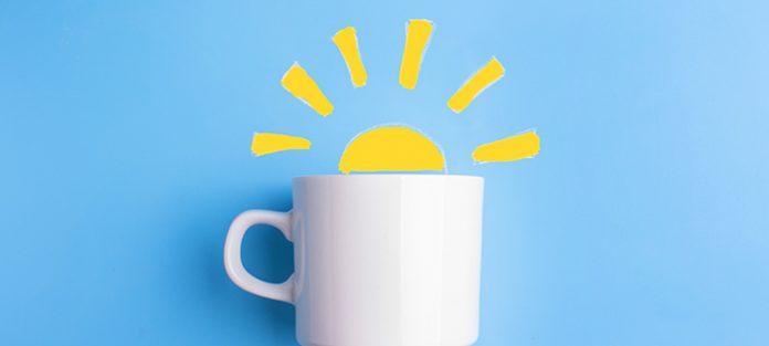 mug with sun