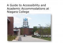 Guide to Accessibility and Academic Accommodations at Niagara College
