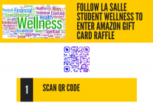 Follow Student Wellness on Facebook and Instagram. Easy access using the QR code