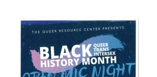 QRC Presents: Black Queer Trans Intersex History Month Open Mic Night