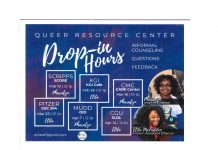 Queer Resource Center Drop-in Hours