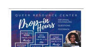 Queer Resource Center Drop-in Hours
