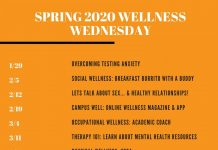 Wellness Wednesdays Spring 2020
