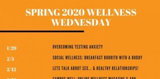 Wellness Wednesdays Spring 2020