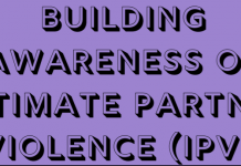 Building Awareness of Intimate Partner Violence (IPV)