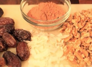 Featured video: Choco-coconut balls