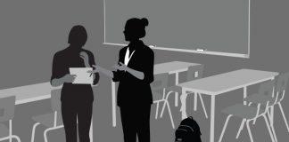 Illustration of a classroom