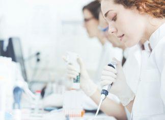 Girl practicing medicine
