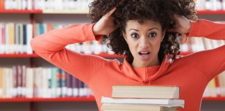 Anxiety in library